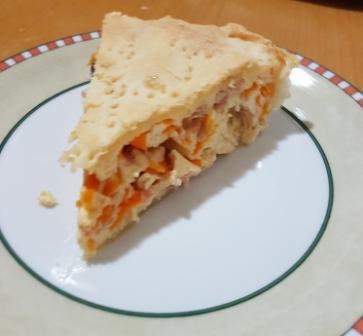 TORTA RUSTICA RICOTTA E MORTADELLA